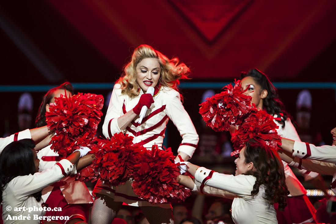 Madonna MDNA tour photo music