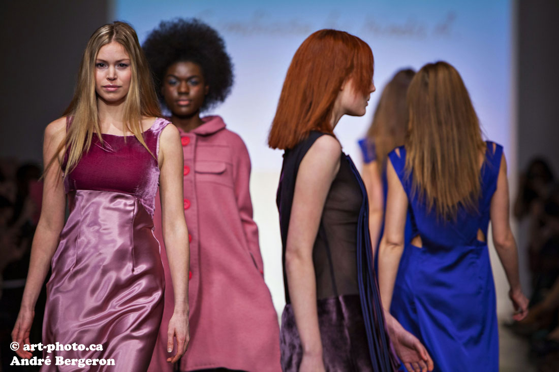 Montreal Fashion Week 2013 Symbiose by Hinda A. photo picture gallery